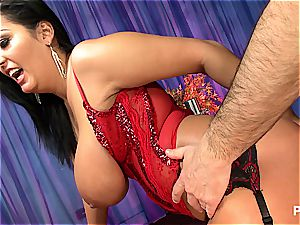 anal joy with mega-curvy Jasmine