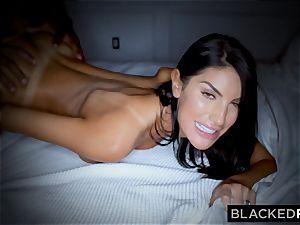 BLACKEDRAW fantastic sizzling wife luvs to rim dark-hued bulls in hotels