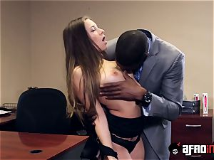 Lusty seductress IR nailed by suspended chief