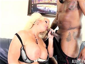 thick big black cock Alura Jenson crammed deep