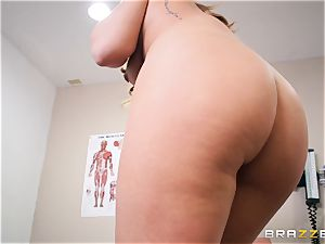 Medical check over with Keiran Lee and Carter Cruise