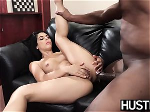 tatted stunner Gina Valentina cheats with cunt total of bbc